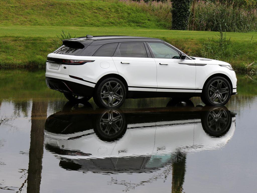 2017 Land Rover Range Rover Velar Fuji White With Light Oyster Leather And Ebony Suedecloth Range Rover Range Rover Car Range Rover Sport