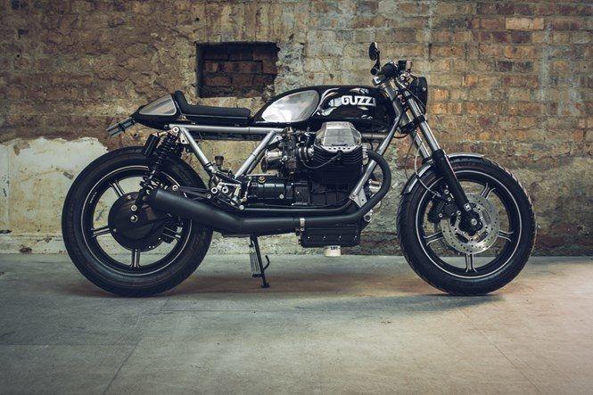 イタ車 カフェレーサーが流行り モトグッツィが英国紳士カスタムされる Forride フォーライド Moto Guzzi Cafe Racer Moto Guzzi Cafe Racer