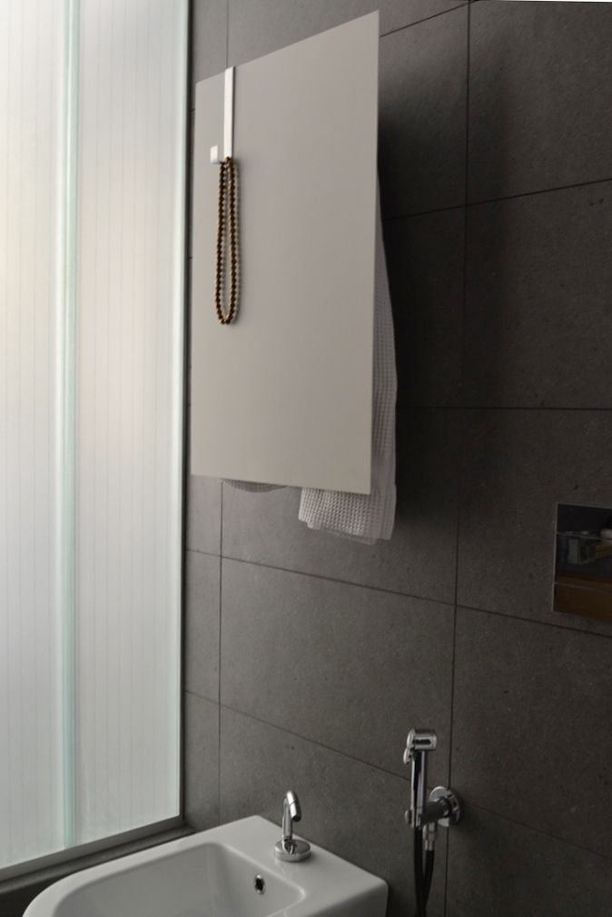white #Rectangle  #Scaldasalvietteelettrico #ElectricTowelwarmers #scaldasalviette #towelwarmers #bathroom  #mg12 #termoarredo #heatedtowelrail