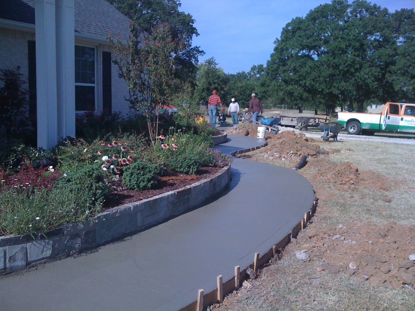 GroundScape, a Fort Worth Landscape Company, installed
