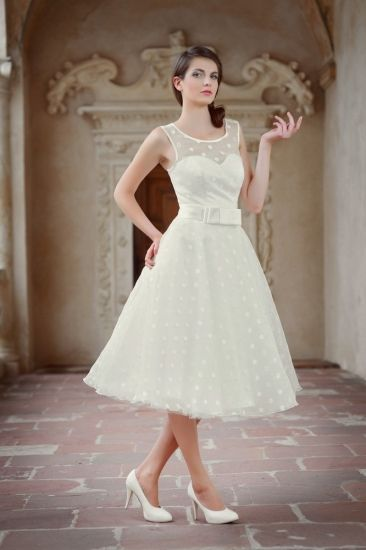 60er Jahre Hochzeitskleid Brautkleid Rockabilly Style Geneve ...