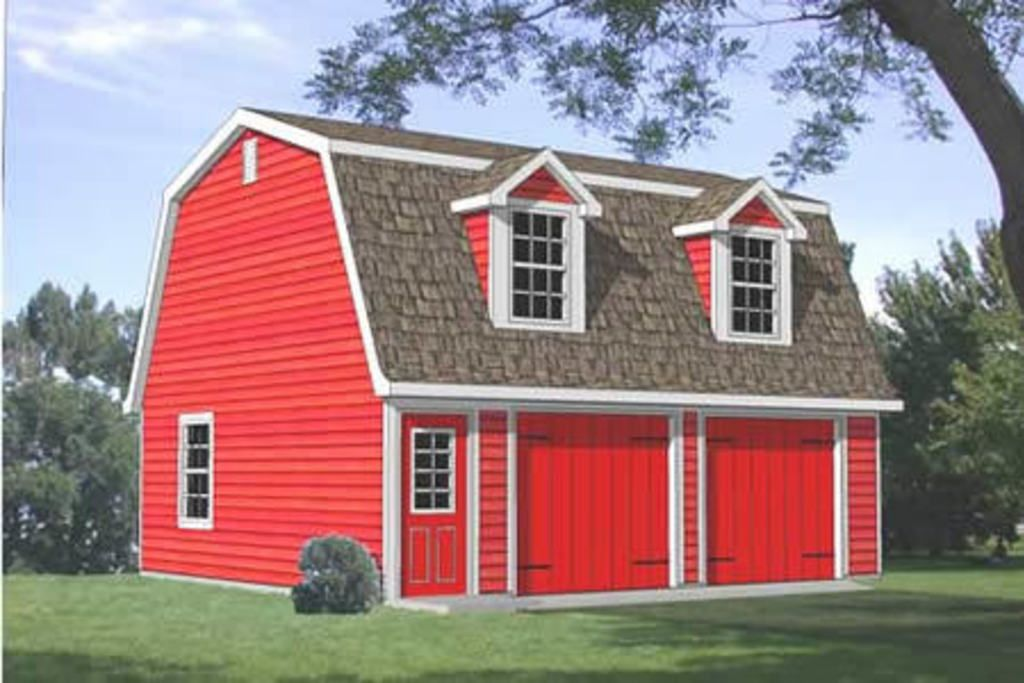 Country 1 Beds 1 Baths 443 Sq/Ft Plan #116-126 Front Elevation - Houseplans.com