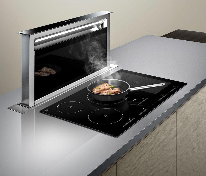Siemens Dunstabzugshaube LD97AA670 – Tischlüfter mit Abluft- oder Umluftbetrieb Küche