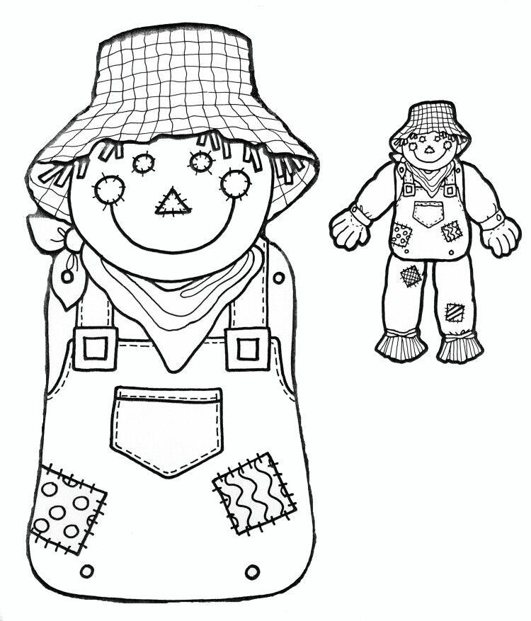 DIY Scarecrow Body