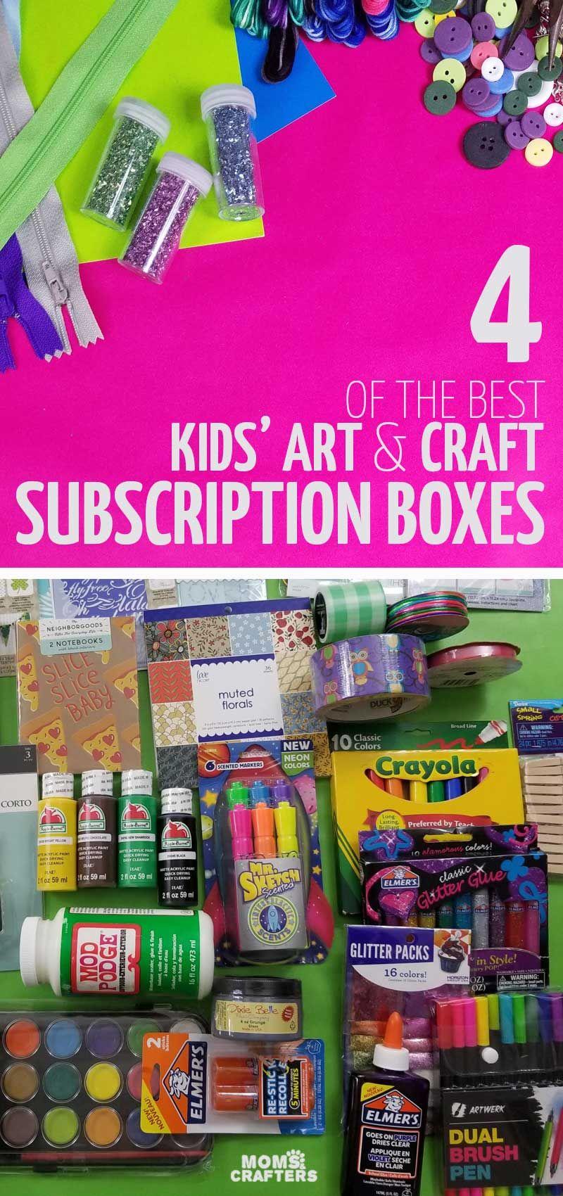 34++ Craft subscription box for tweens ideas