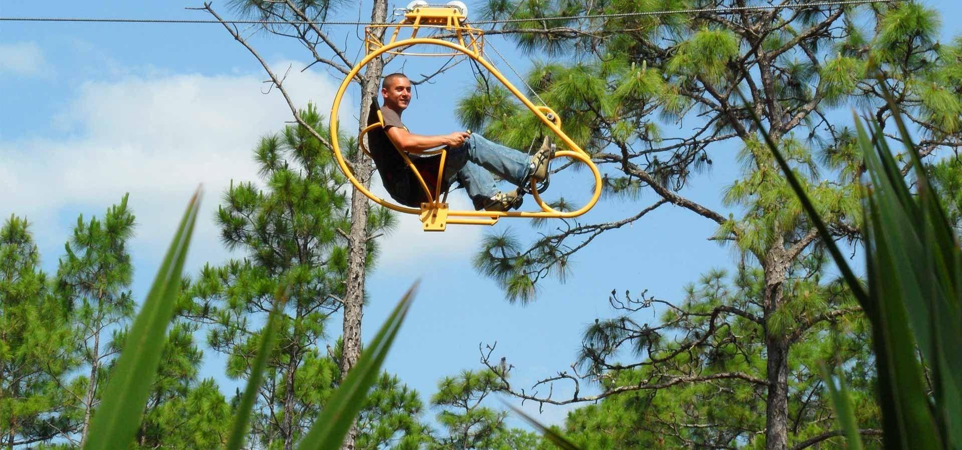 Cypress Canopy Cycle at Florida EcoSafaris at Forever Florida & Cypress Canopy Cycle at Florida EcoSafaris at Forever Florida ...