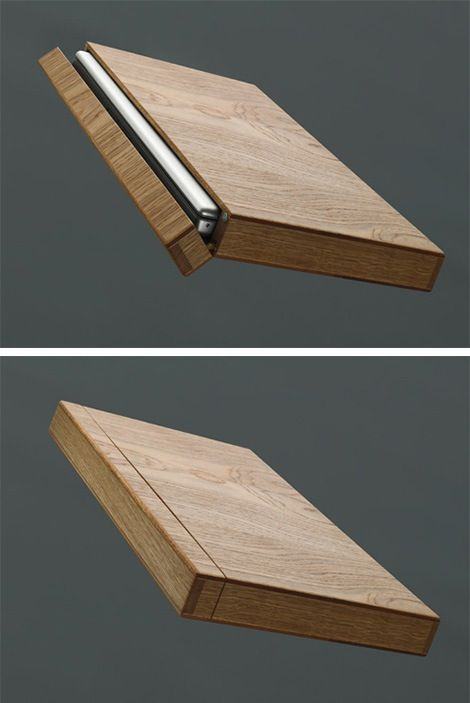 Wooden Laptop Case by Rainer Spehl