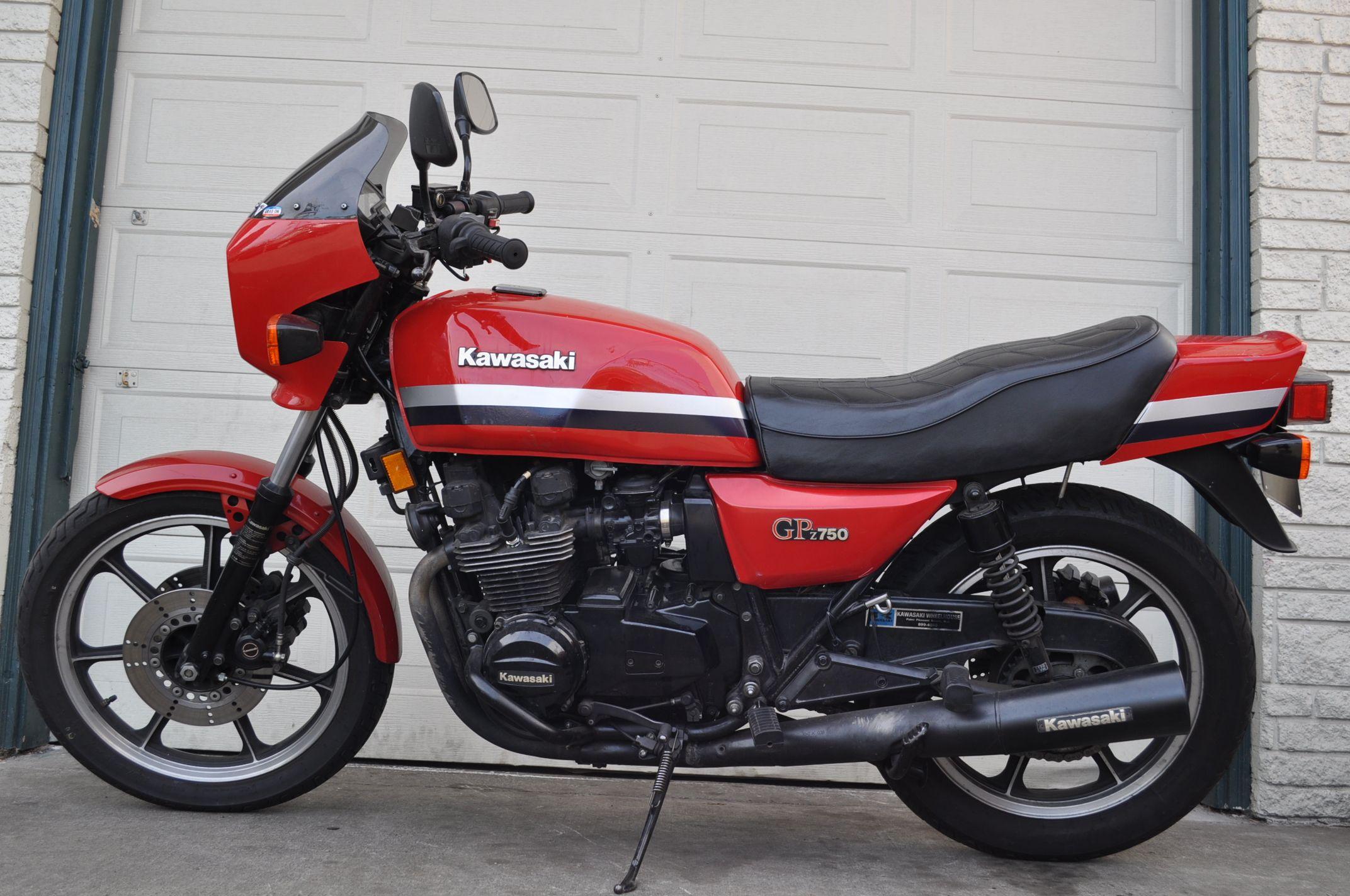 1982 Kawasaki Gpz750 Kawasaki Bikes Kawasaki Motorcycles Classic Motorcycles