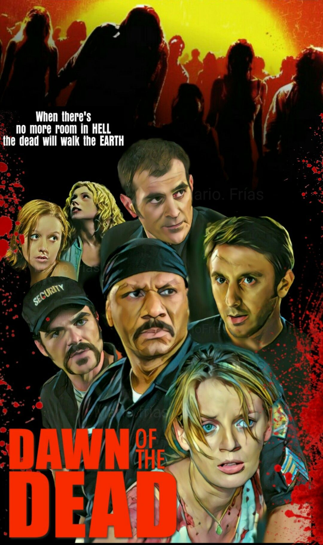 Dawn Dead Zombies