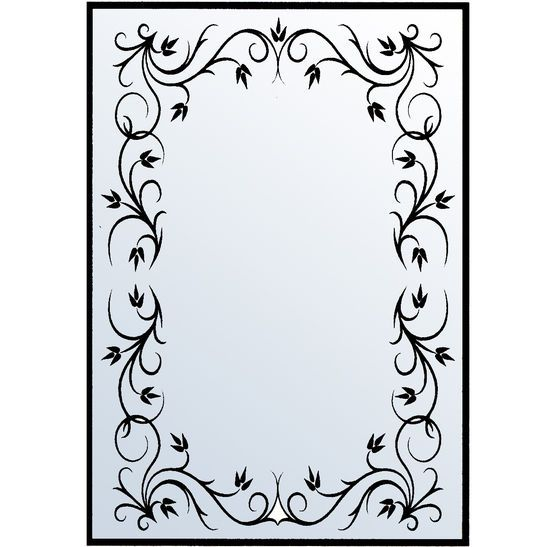 Nellie Snellen Embossing Folder Rectangle Frame 1  It doesn't get a deep impression.