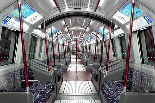 New interior for London tube revealed