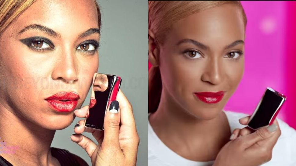 Unretouched photos of Beyoncé have leaked. And guess what? She looks like anyone whose had to wear a shit ton of make-up under hot lights with the pimples to prove it. She looks like a very pretty member of the rest of us. The kicker here; the BeyHive was so offended for their Queen that Beyoncé World--the site that leaked the images--deleted them in fear of retaliation.