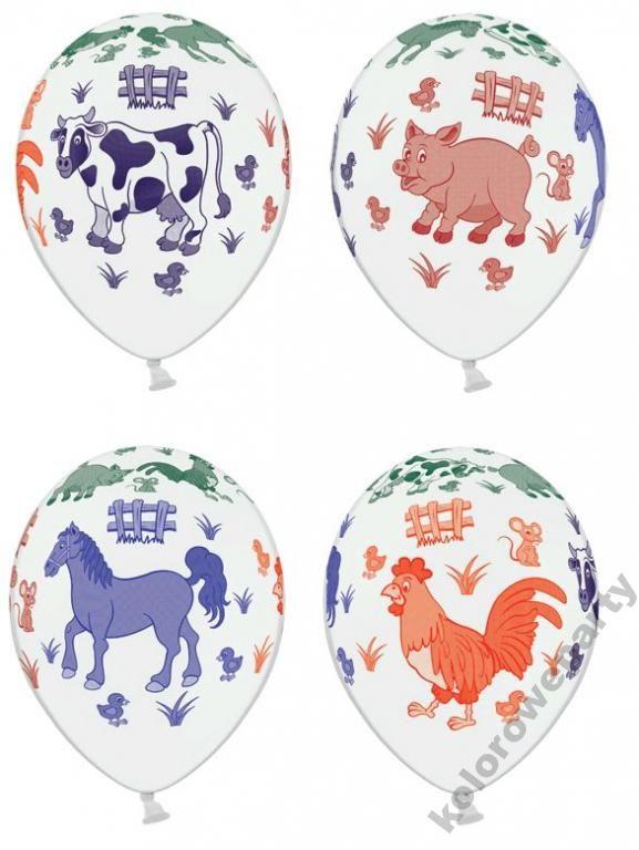 Balon Balony Urodziny Przyjecie Zwierzeta Z Farmy 3267365792 Oficjalne Archiwum Allegro Decor Decorative Plates Home Decor