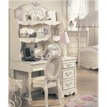 Jessica Mcclintock Romance 3 Pc Computer Desk Set Lea 203 345 By