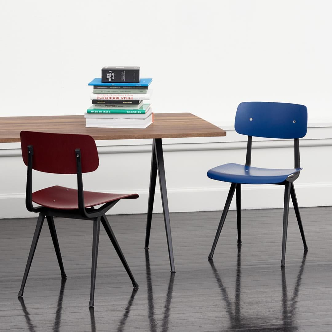 Result Chair Comes In A Number Of Finishes And Colours That Can Be Mixed Or Coordinated To Suit Any Space Designed By Friso Kramer For Chair Hay Design Design