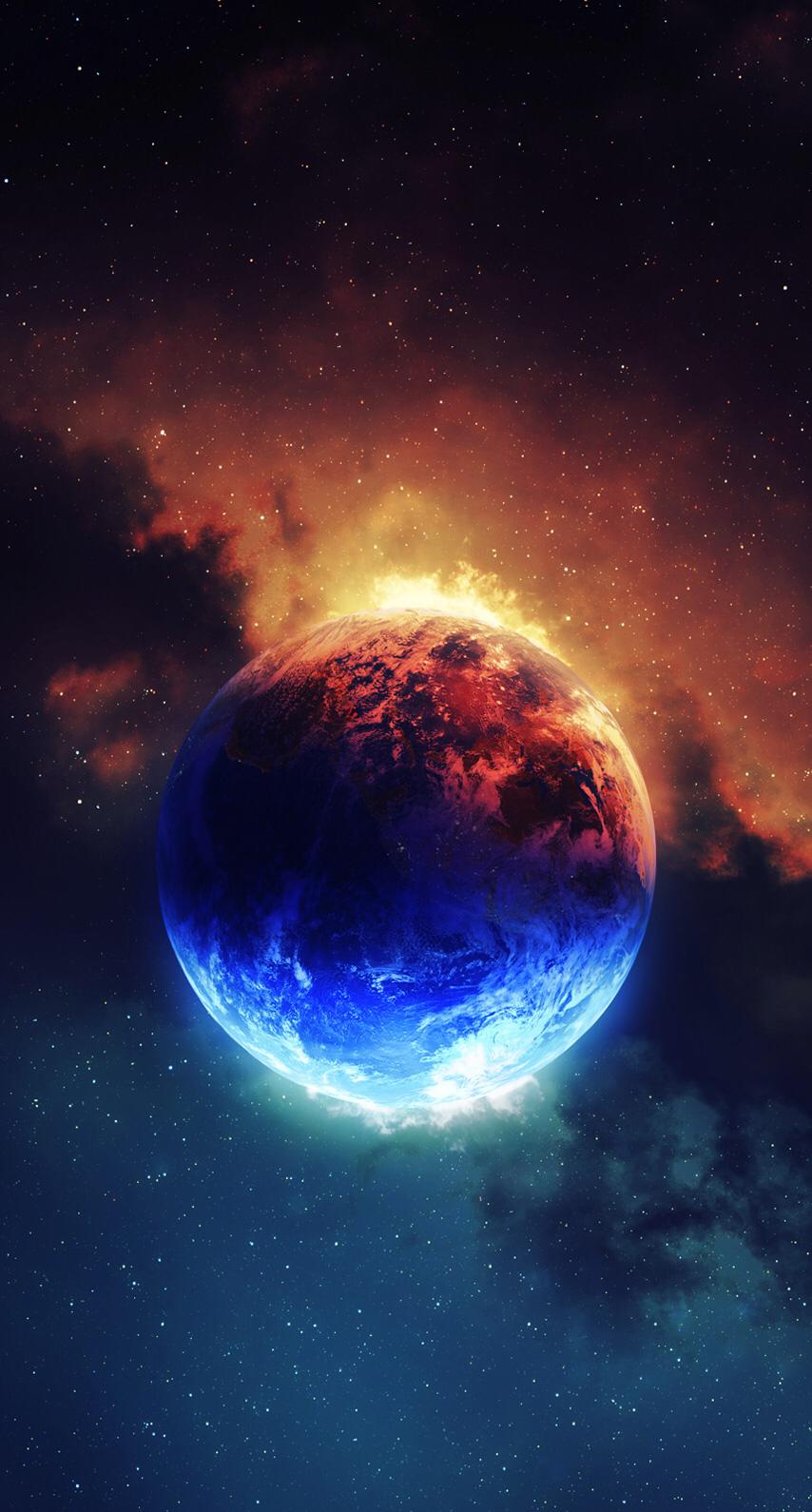 Elements Wallpaper Galaxy wallpaper, Produção de