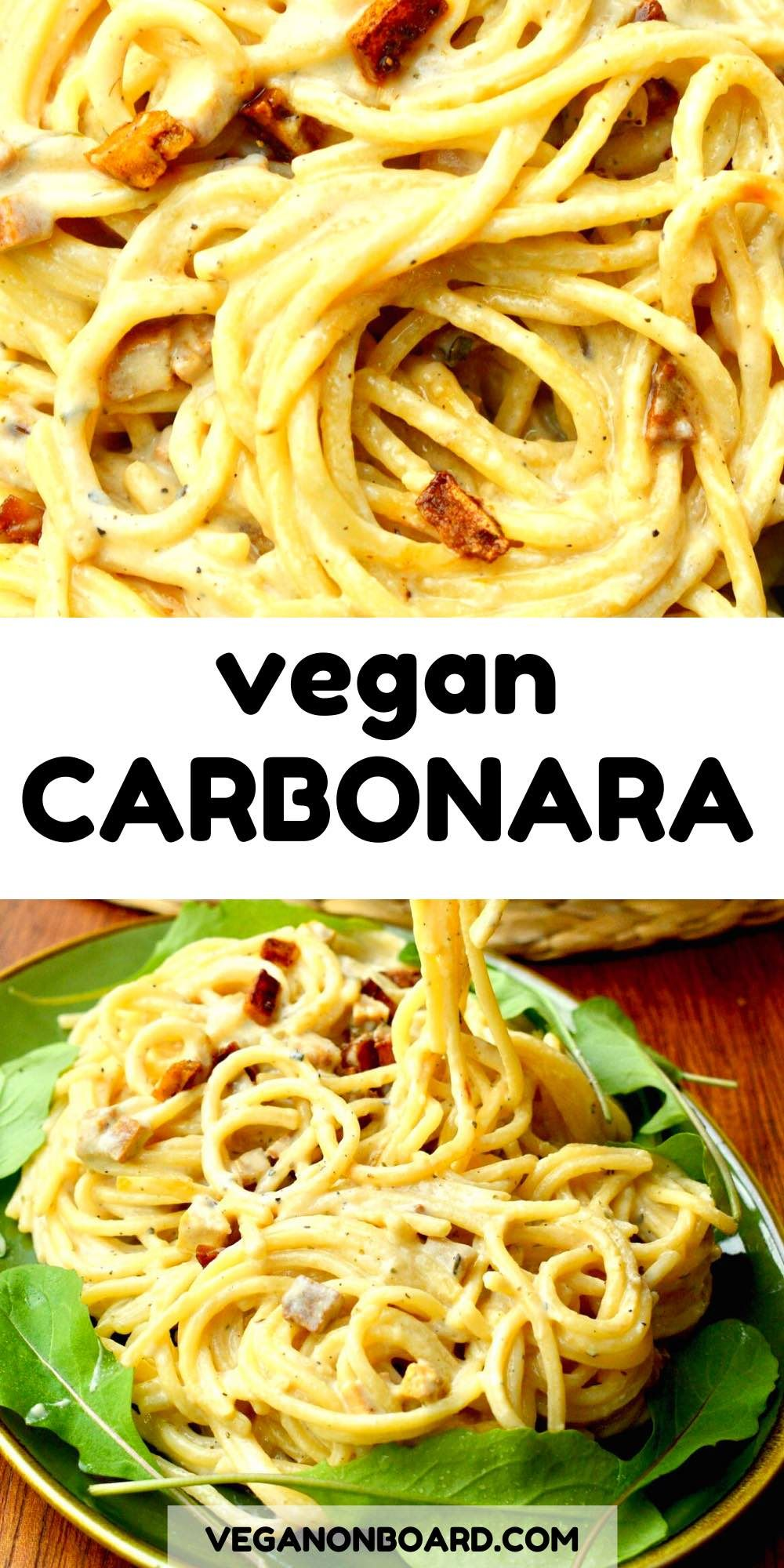 Photo of Easy Vegan Carbonara – Vegan on Board