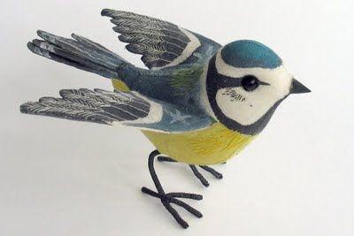Luckyou Handmade: I love these birdies...