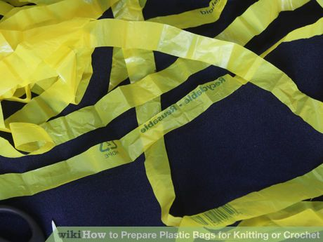 Image titled Prepare Plastic Bags for Knitting or Crochet Step 10