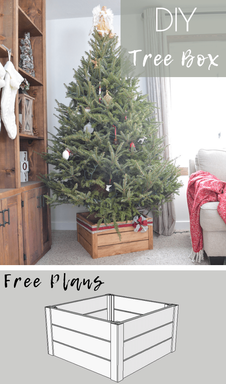 Diy Christmas Tree Stand Christmas Tree Stand Diy Christmas Tree Box Stand Collapsible Christmas Tree