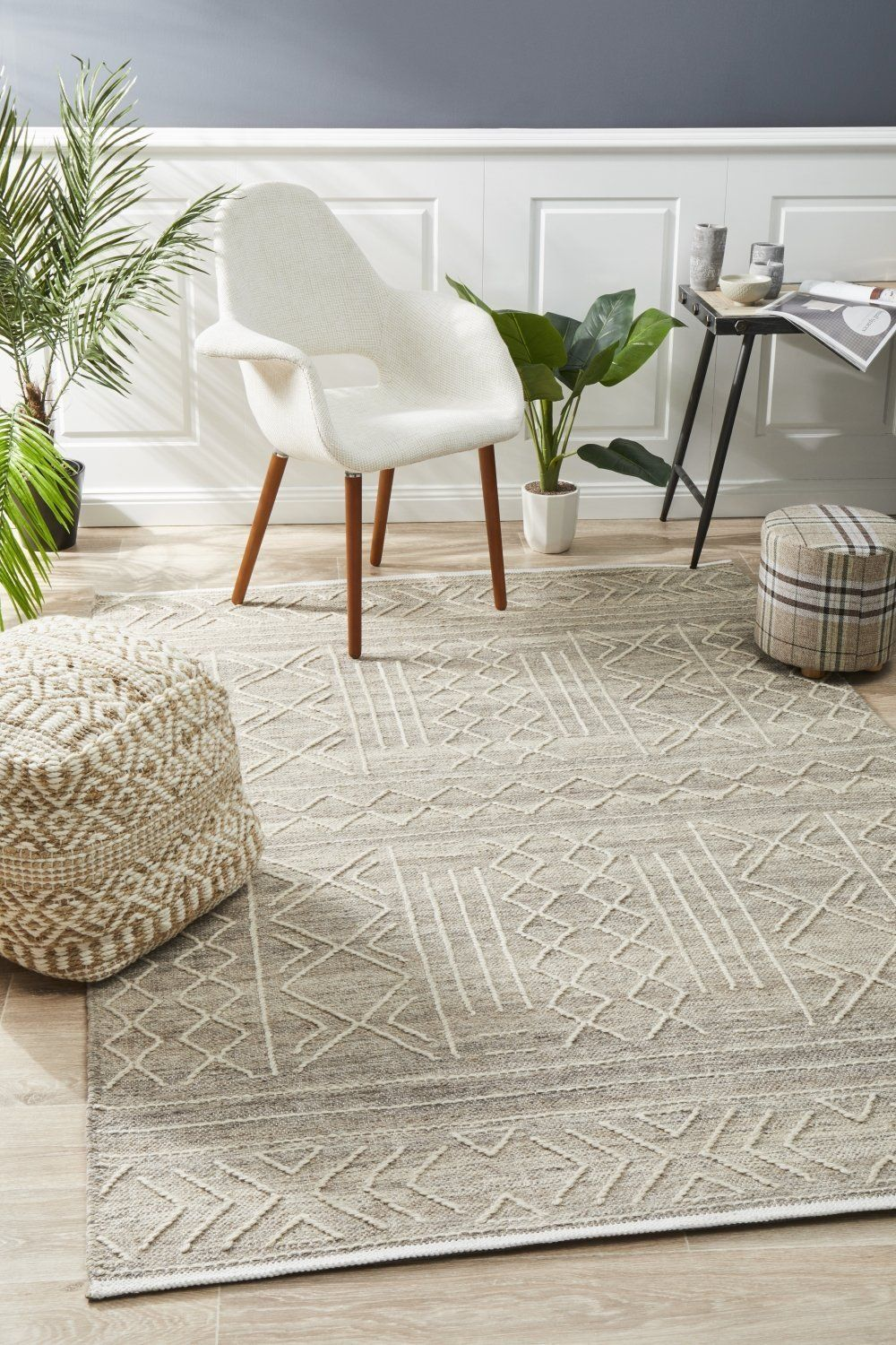 Arya Stitch Woven Rug Natural Haggleco Rugs In Living Room Natural Rug Rugs Australia