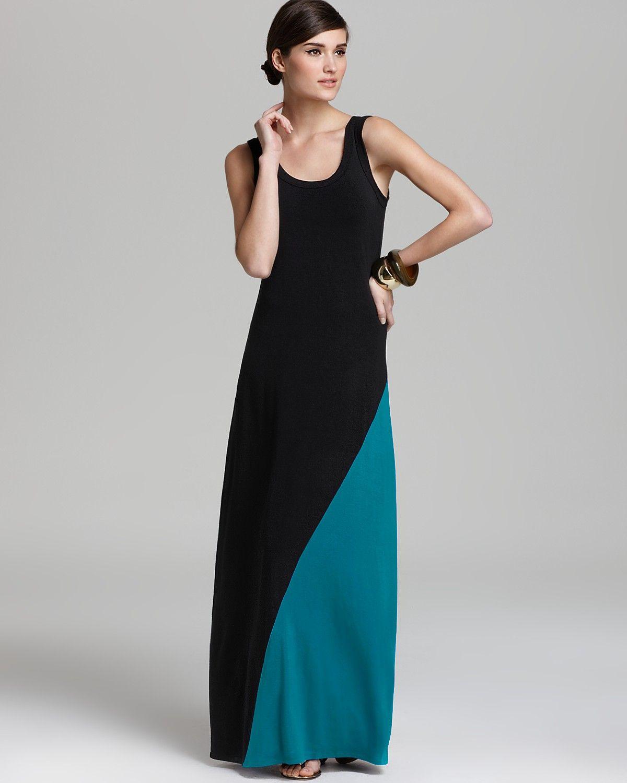 Karen Kane Split Color Tank Maxi Dress Women Bloomingdale S Maxi Dress Womens Maxi Dresses Maxi Tank Dress [ 1500 x 1200 Pixel ]