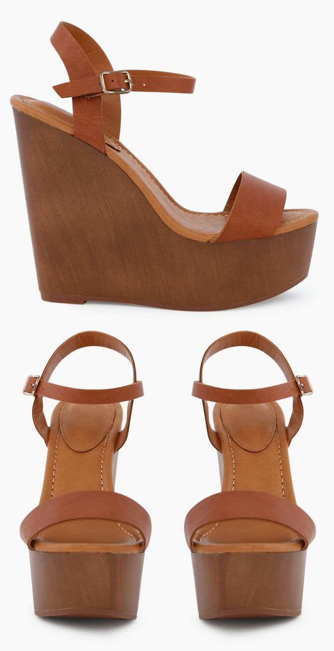 41ed936203 Wonderful Wooden Wedges! #fashion #shoes #wedges | I'm a size 7 in ...