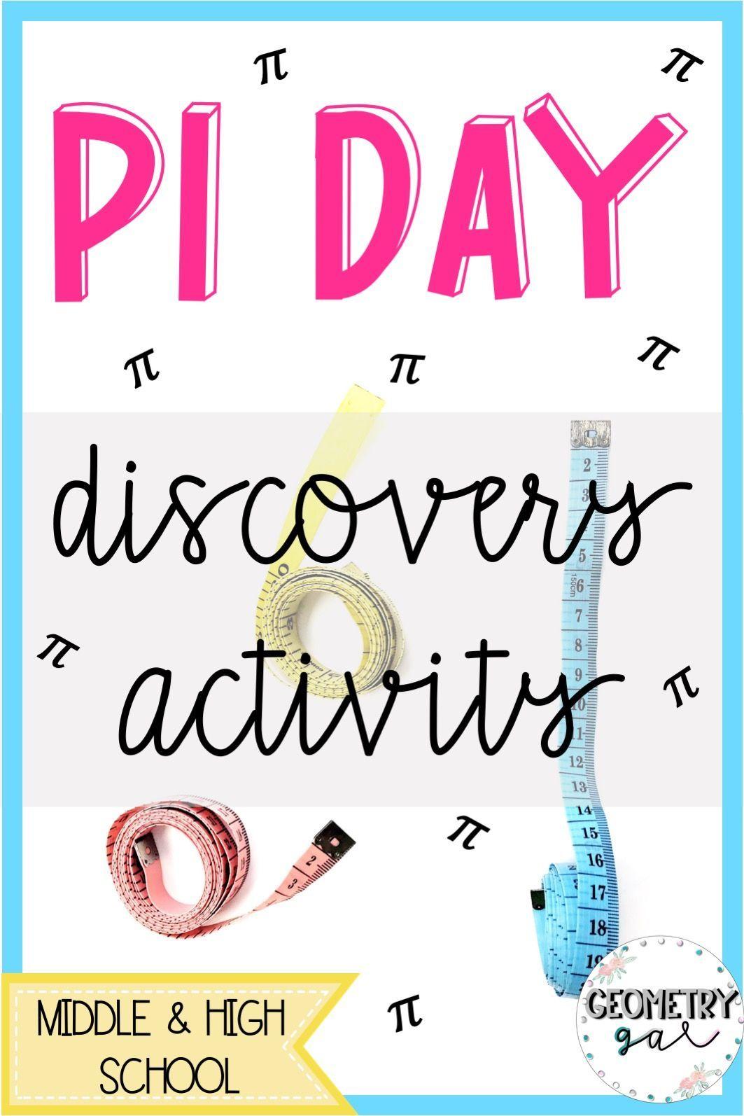 Pi Day Discovery Activity