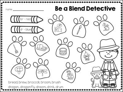 Teaching Blends with Letter Buddies—with FREE Download