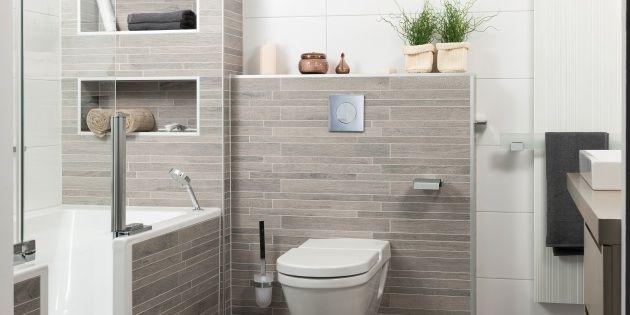 Houtstructuur tegels een nieuwe trend in badkamers. http://www ...