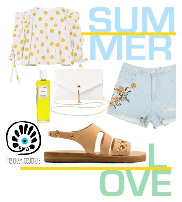 """SummerTime"" by animesteelgoddess ❤ liked on Polyvore featuring Caroline Constas and Charlotte Russe"