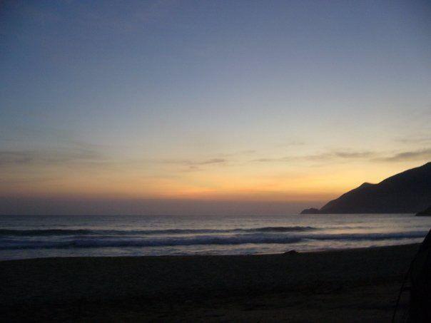 Playa grande. Choroni