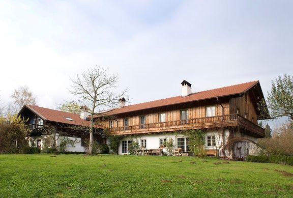 Abenbsberg Holz 100 L-Form modernes Bauernhaus | Alpine ...
