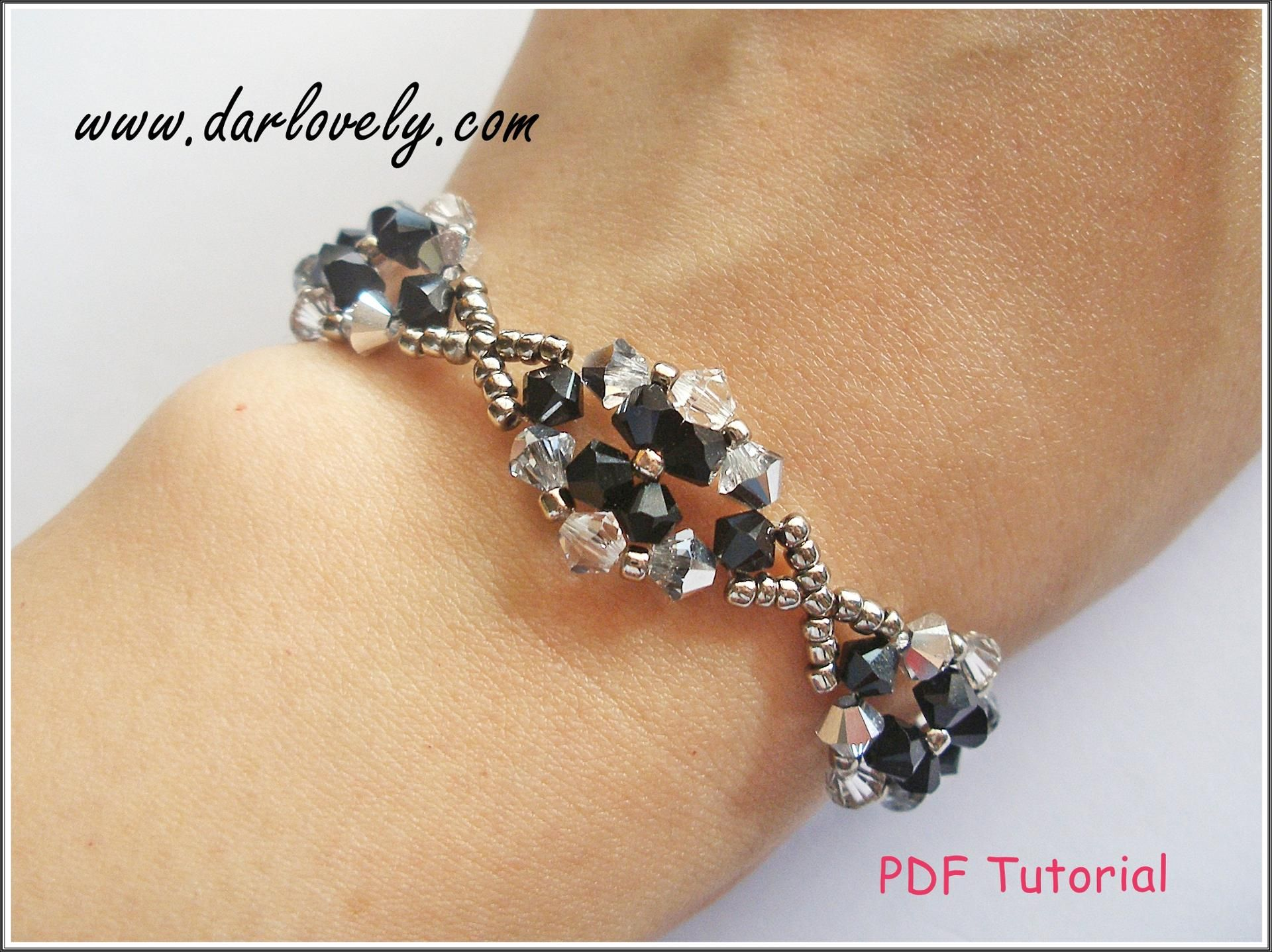 formal classy bracelets for gemstone bracelet zircon buy braceletblack products deetya the wear silver black