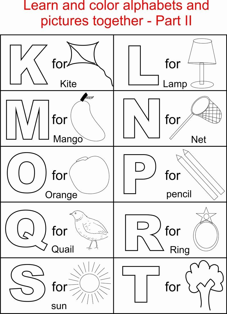 24 Alphabet Coloring Pages Printable In 2020 Alphabet For Kids