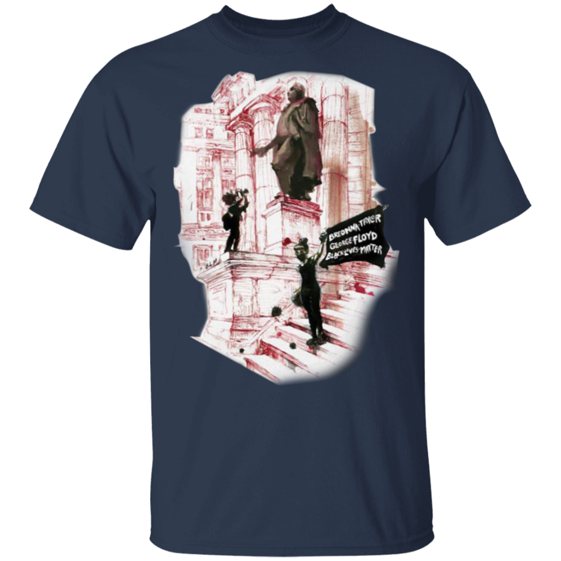 Breonna Taylor George Floyd Blm Shirt Justice For Breonna Taylor Navy 5xl In 2021 Printed Shirts Shirts Long Sleeve Shirts