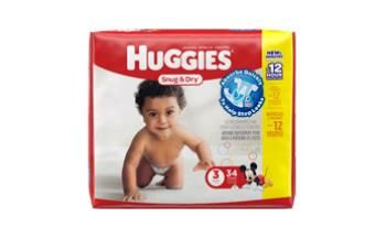 Huggies® Snug & Dry Diapers help keep your baby's skin dry with long-lasting protection against leaks. Now the fun never has to end!