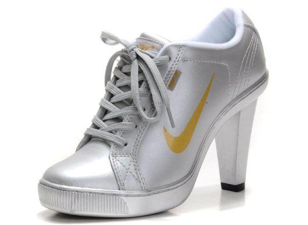cb960127e ... best price nike dunk sb swoosh low heel silver gold cheap nike sb  swoosh low heels