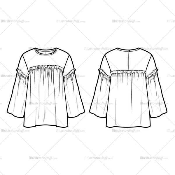 Free Fashion Flat Templates Trim Pack Fashion Sketch Template Fashion Sketches Fashion Design