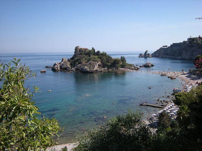 Isola Bella, em Taormina