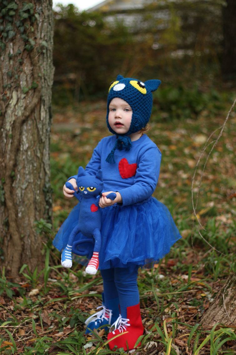 Pete the cat costume for little girl | Pete the cat ...