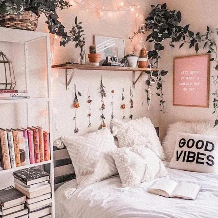 Vsco Room Ideas How To Create A Cute Vsco Room 11 Decoracao Do Dormitorio Decoracao De Quarto Decoracao De Quarto Tumblr