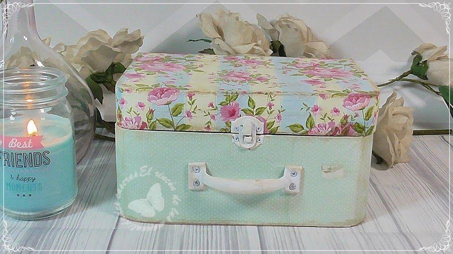 40ad8206b Organizador de cartón DIY. ¡Es una maleta! | Cajas | Maletas de ...