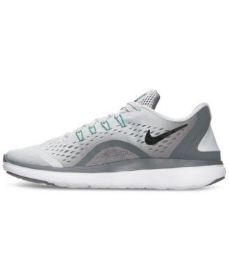 Nike Women s Flex 2017 Run Running Sneakers from Finish Line - Black ... 1cb449155
