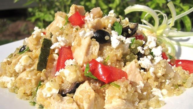 A large variety of mediterranean recipes from hummus to main meals lots of healthy greek recipes mediterranean quinoa salad forumfinder Choice Image