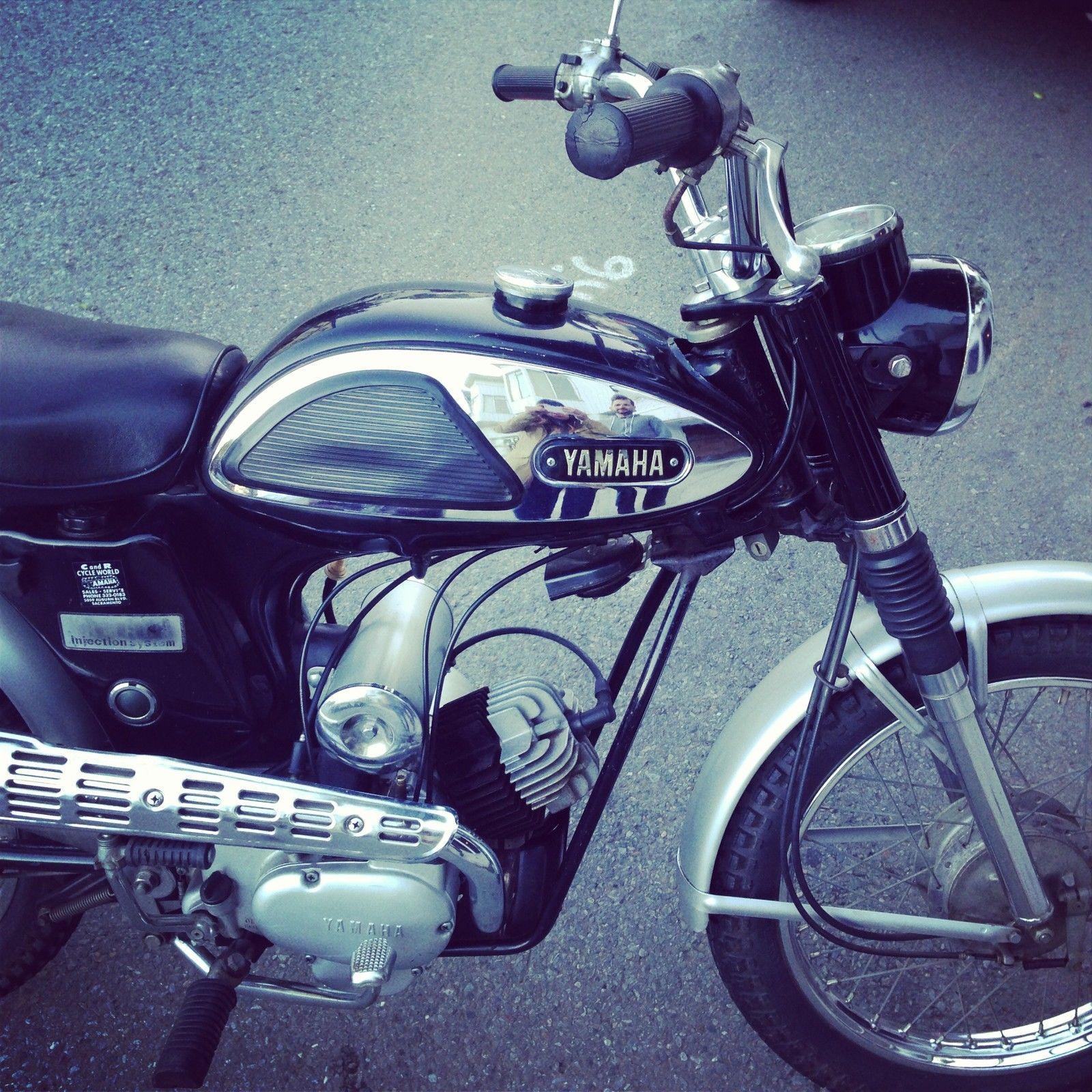 Vintage 1968 Yamaha Trailmaster Yg5t 80 Ebay Yamaha Motorcycle Ebay