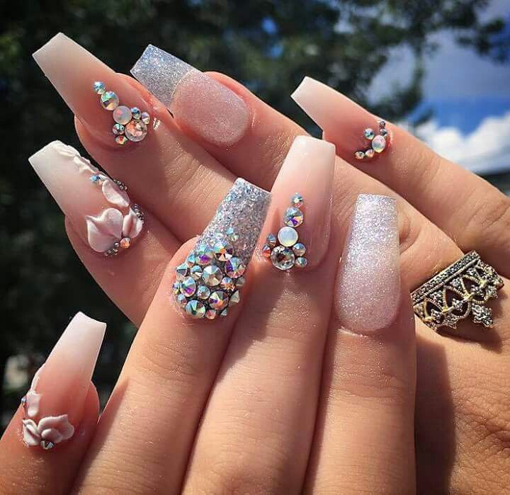 Pin by Meriah Merriweather on Fancy nails | Pinterest | Coffin nails ...