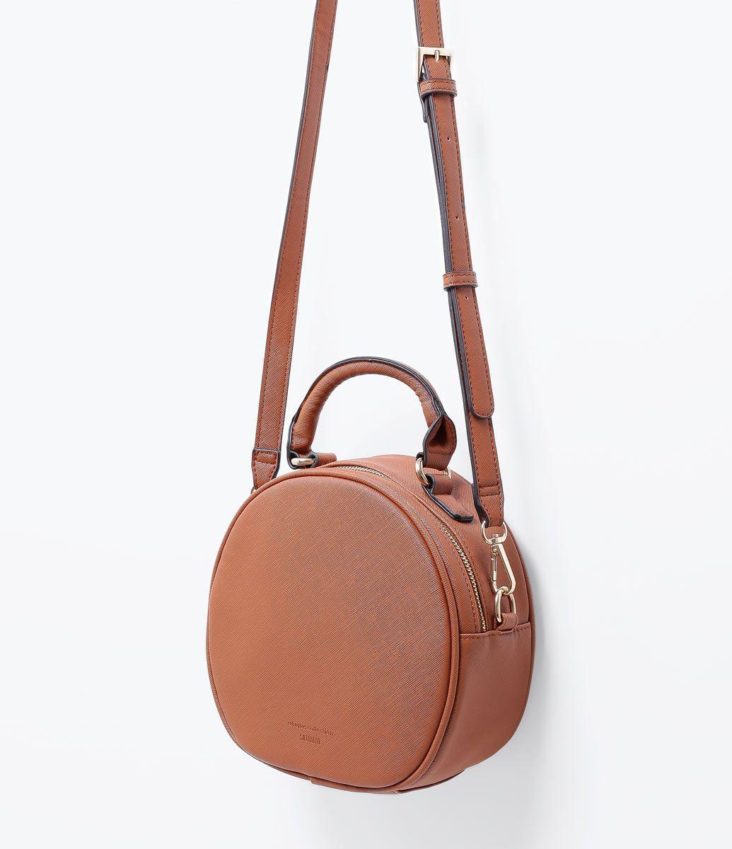 81caf49dd Bolsa feminina Modelo transversal Redonda Lisa Marca: Satinato Material:  sintético Composição: 100%