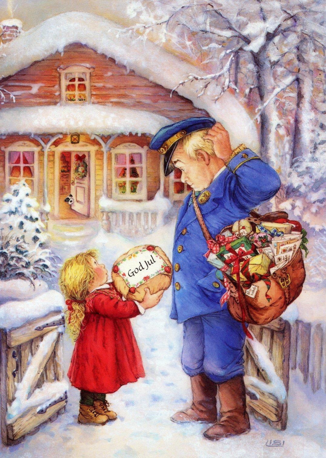 mailman advent calendar - part of our German Christmas ...