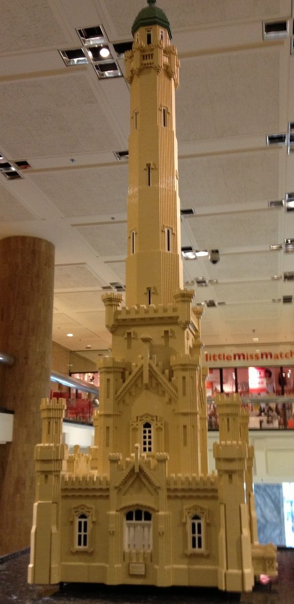 Chicago Historic Water Tower in Lego